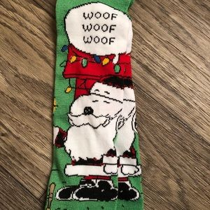 Peanuts Accessories - Peanuts Snoopy Christmas Knee High Socks 9-11